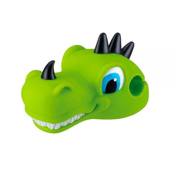Dragón verde accesorio para patinete