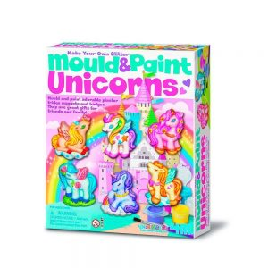 Imanes de escayola unicornios