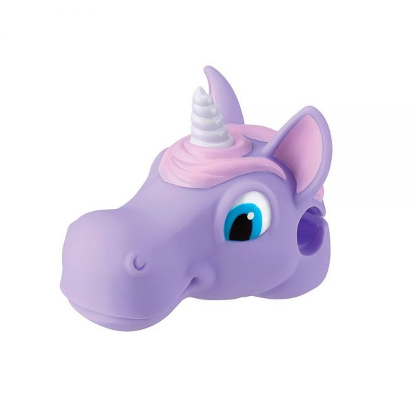 Unicornio lila accesorio para patinete