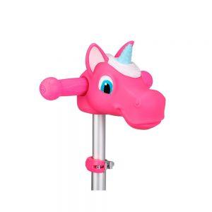 Unicornio rosa accesorio para patinete