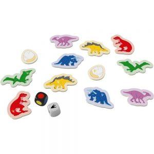 Juego de mesa Tiranosaurio Rex. Juego de viaje. Juego de bolsillo