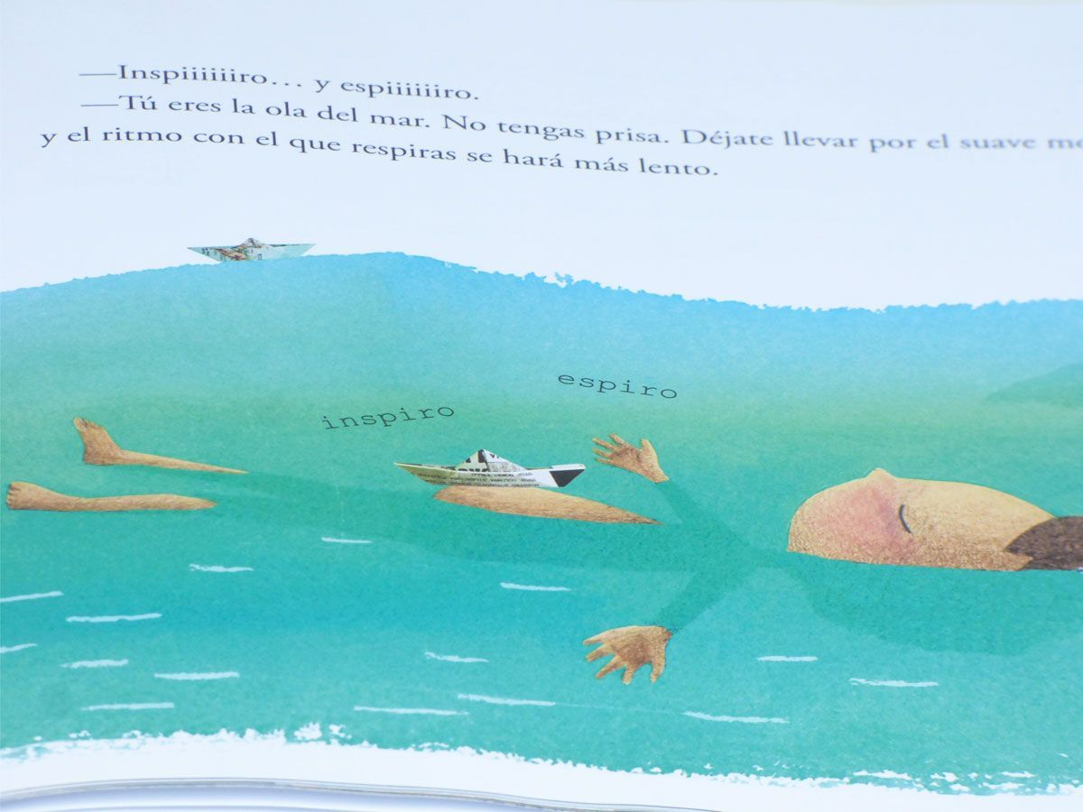 Libro respira yoga niños