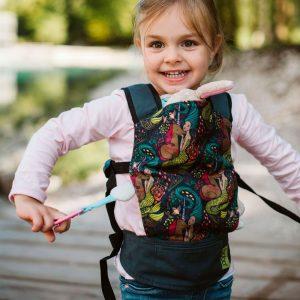 Boba mini portabebes mochila infantil kangura sirena y unicornio