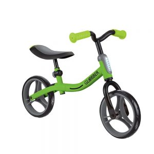 Globber go bike verde bicicleta de equilibrio sin pedales