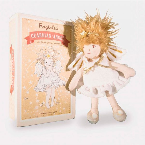 Muñeca hada de los dientes angel de la guarda Ragtales