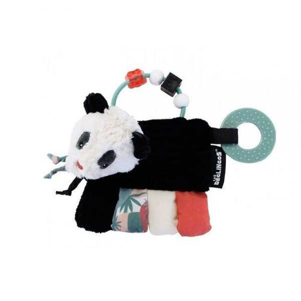 Mordedor sonajero deglingos oso panda