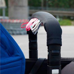 Protector Barra de Seguridad Carro Bebé Negro/Multicolor