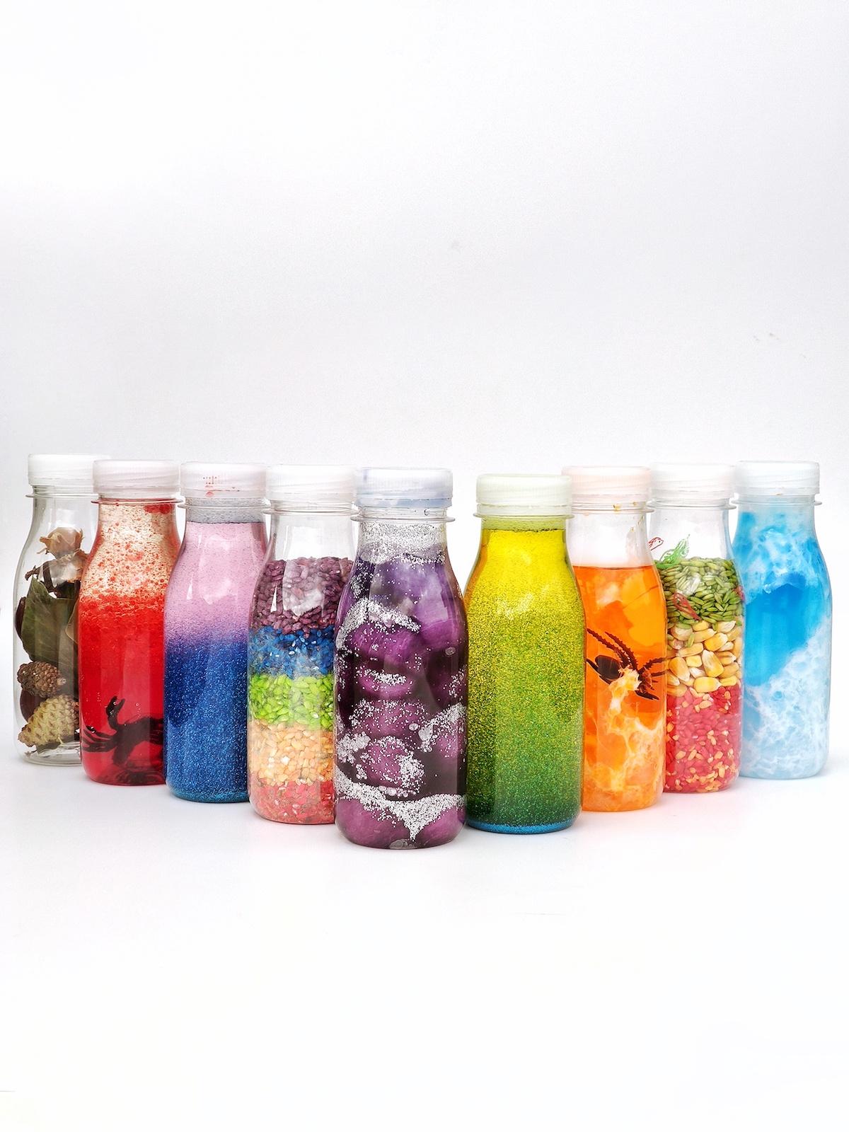 Cómo fabricar tus propias botellas sensoriales   Alupé