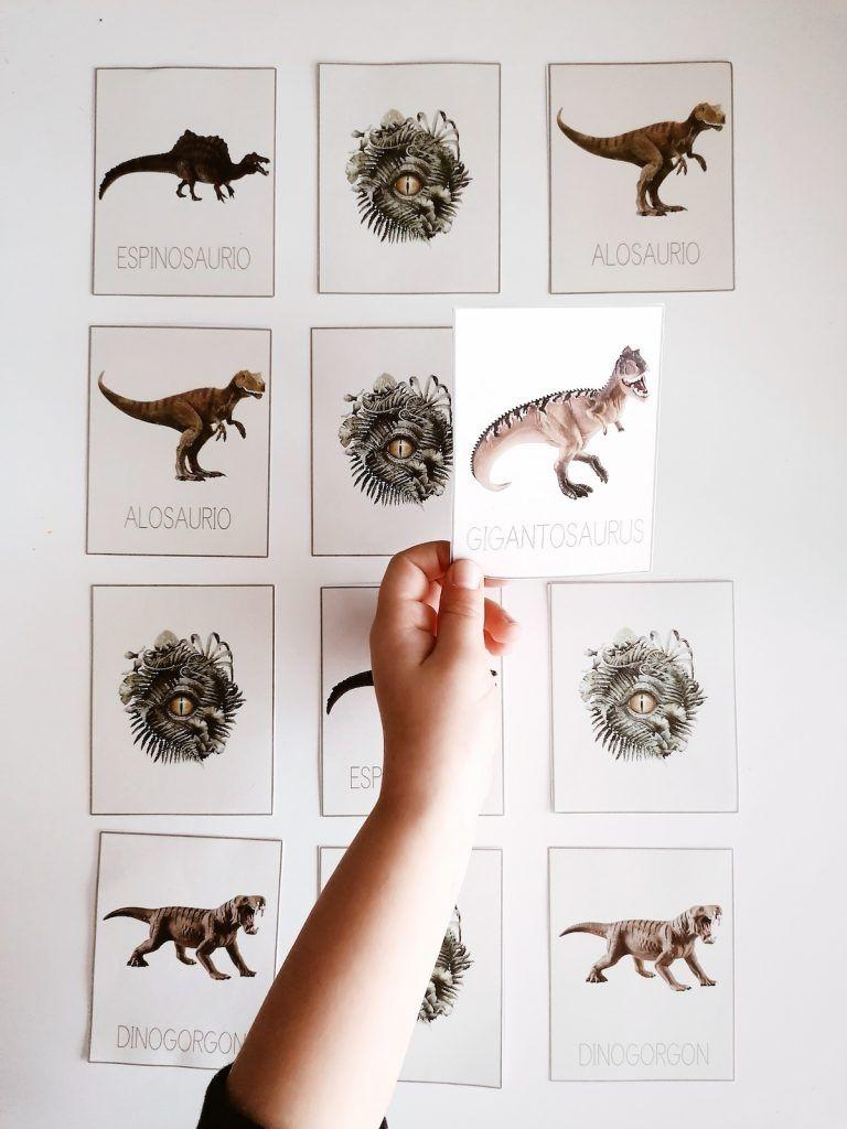 dinosaurios - memory