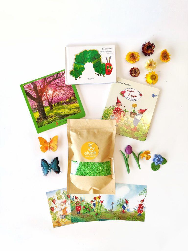 Kit sensorial de primavera