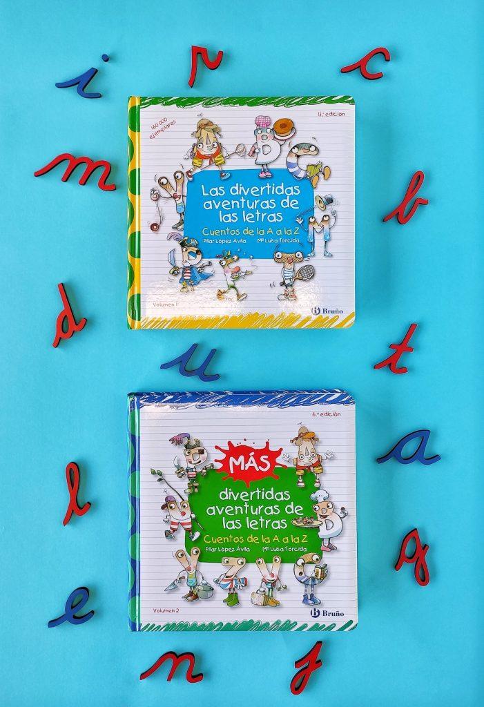 Lectoescritura libros Las divertidas aventuras de las letras