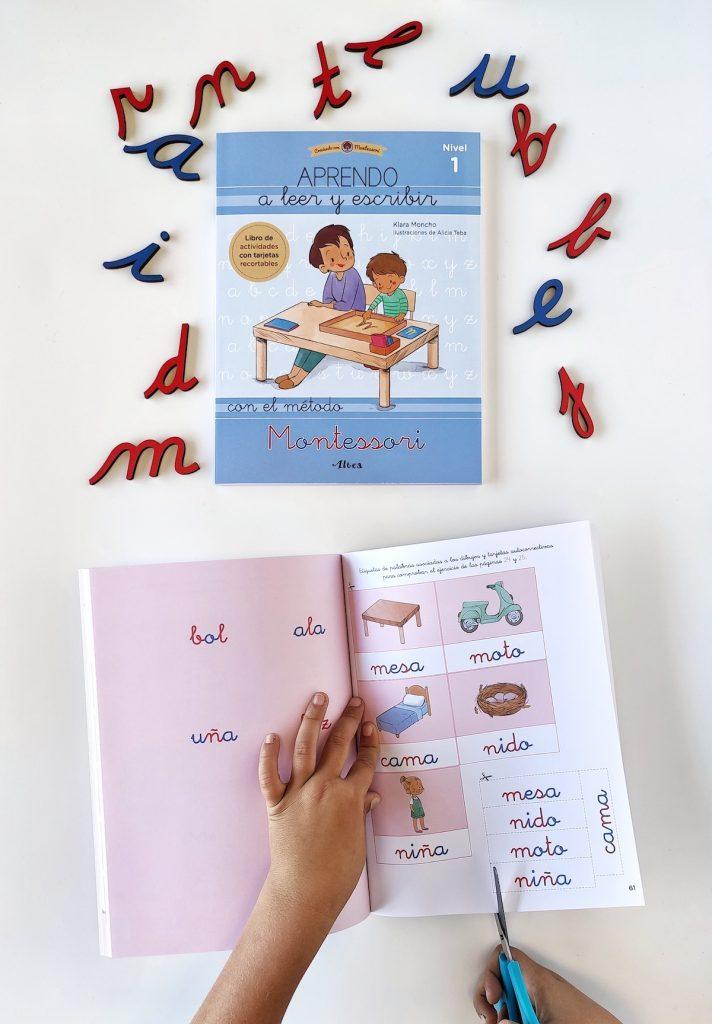 Lectoescritura libros Aprendo a leer y escribir con el método Montessori