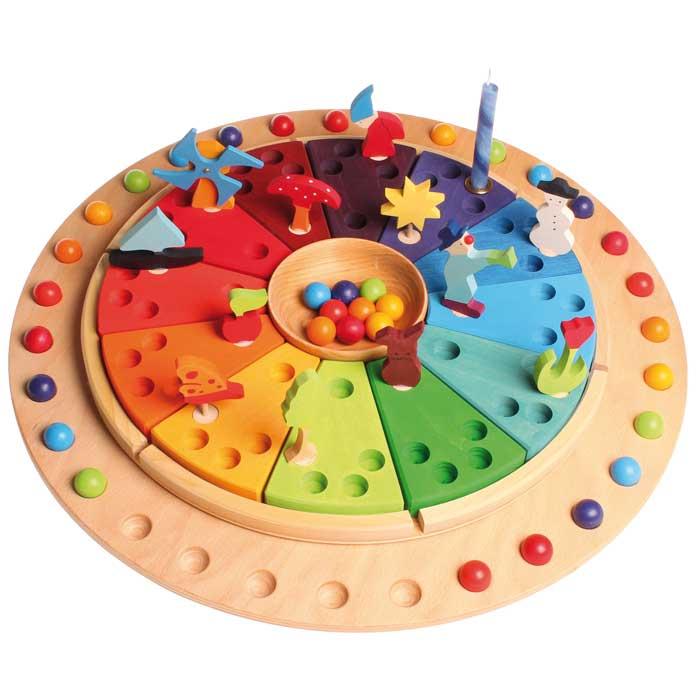 Calendario Montessori.Calendario Anual Waldorf Montessori