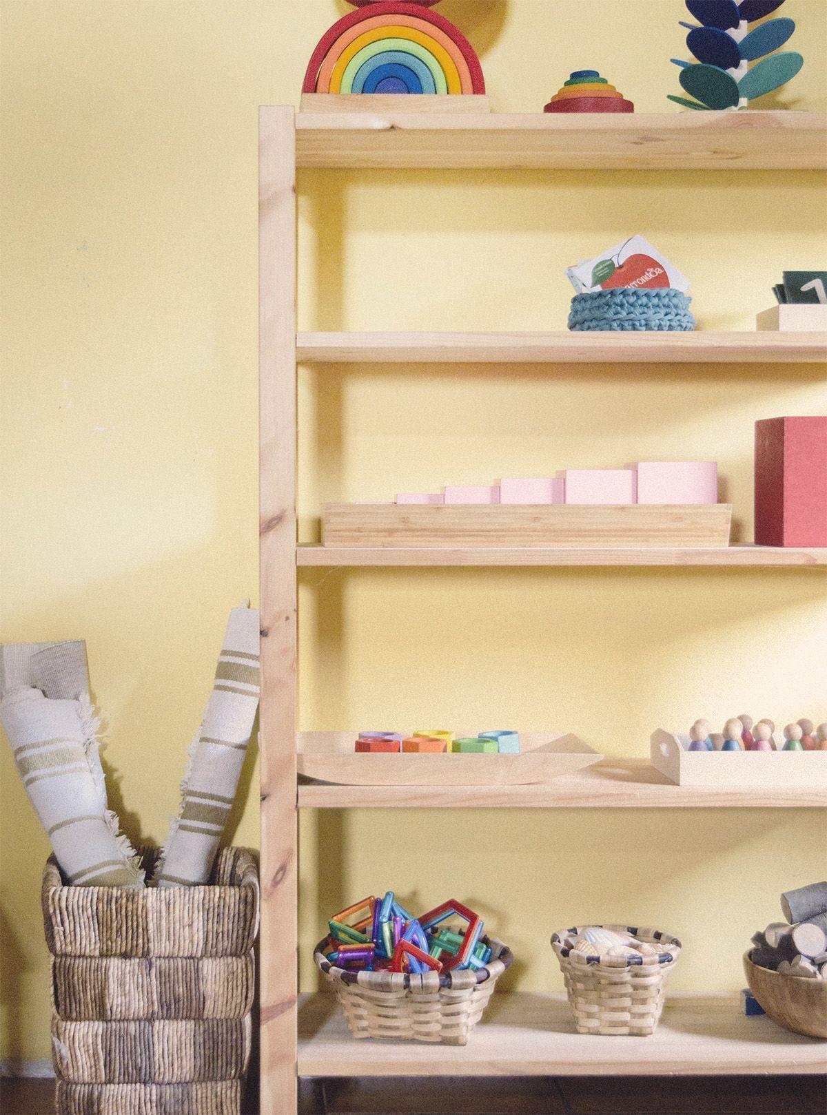 Estanteria Montessori