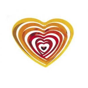 juguetes creativos de madera movil corazon