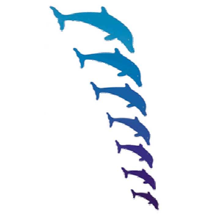 juguetes creativos de madera movil delfines